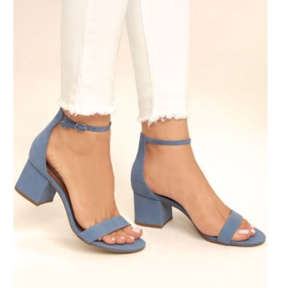 Steve Madden Irenee Sandals Light Blue